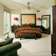 Contemporary Bedroom by suzanne lawson design - interior design