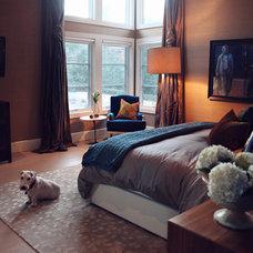 Contemporary Bedroom Modern Family Room