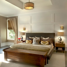 Farmhouse Bedroom by Charles Vincent George Architects, Inc.
