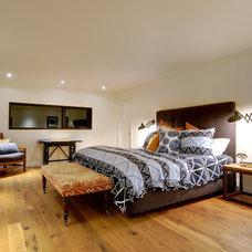 Farmhouse Bedroom by Farrow Arcaro Design