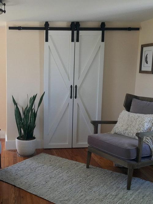 Camera da letto in campagna con pareti rosa foto e idee for Camera padronale di campagna francese