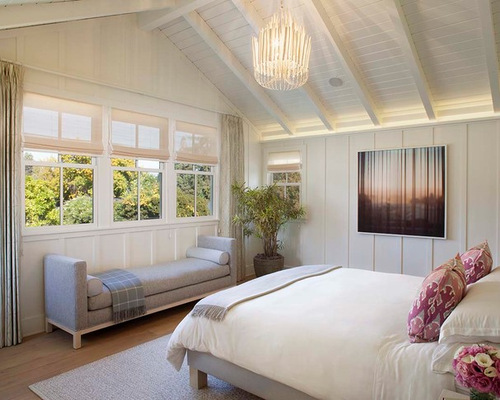 Custom Farmhouse Master Bedroom | Houzz