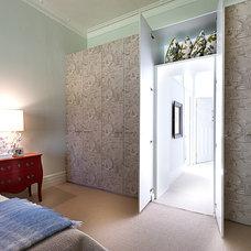 Transitional Bedroom by Brett Mickan Interior Design