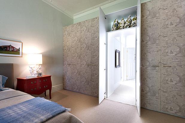 Транзисьон Спальня by Brett Mickan Interior Design