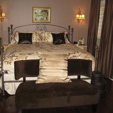 Contemporary Bedroom by Second Wind Interior Design