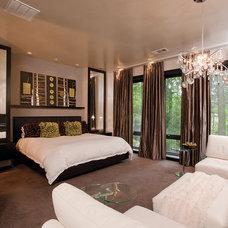 Modern Bedroom by Burns Century Interior Design