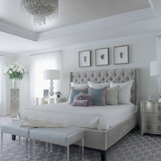 Transitional Bedroom by Susan Glick Interiors