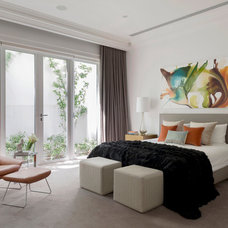 Contemporary Bedroom by Massimo Interiors