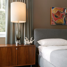 Midcentury Bedroom by Kenneth Brown Design