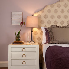 Eclectic Bedroom by lisa gutow design