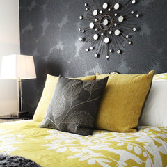 contemporary bedroom by Judith Balis