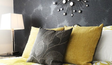 Grey & Yellow: One of the Most Glamorous Colour Combos?