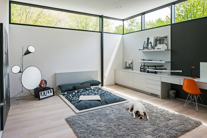 Scandinavian Bedroom by Peter A. Sellar - Architectural Photographer