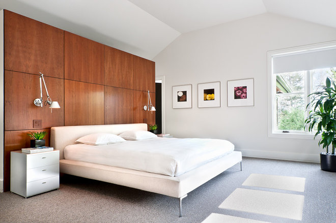 Contemporary Bedroom by Kimberly Demmy Design
