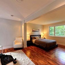 Modern Bedroom Modern house remodel