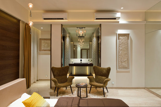Contemporary Bedroom by fsnd