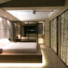 Modern Bedroom by Liquid Interiors Limited