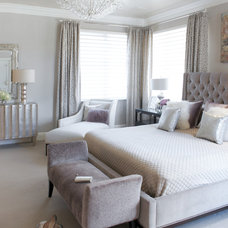 Bedroom by Susan Glick Interiors