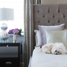 Contemporary Bedroom by Susan Glick Interiors
