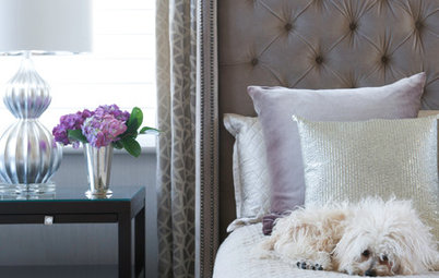 Room of the Day: Serene Glamour Suits a Master Bedroom