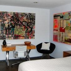 Contemporary Bedroom by Dana Nichols