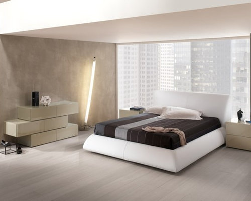 Ultramodern bedroom houzz for Ultra modern bedroom designs