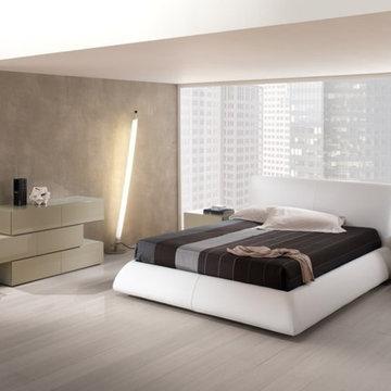Modern Master Bedroom Platform Bed Dali - $2,510.00