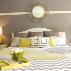Modern Bedroom by Judith Balis Interiors