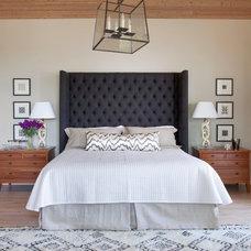 Rustic Bedroom by Savant Design Group
