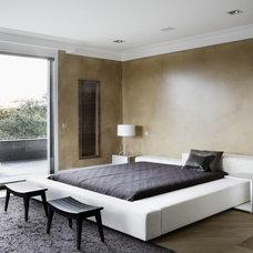 Contemporary Bedroom by Lignum Elite - wide plank flooring