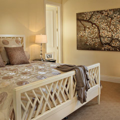 contemporary bedroom by JMA INTERIOR DECORATION