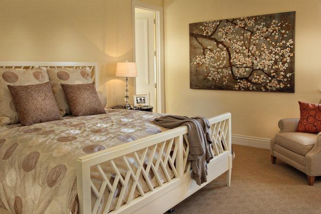Contemporary Bedroom by JMA INTERIOR DECORATION