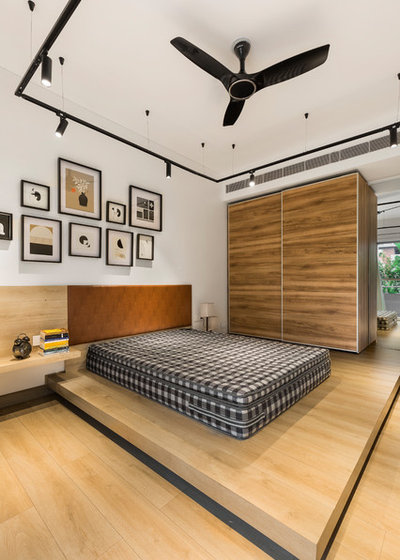 Contemporary Bedroom by Studio Wood
