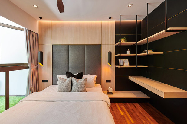 Contemporary Bedroom by TA.LE Architects