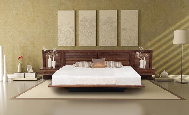 Modern Bedroom by VERMONT WOODS STUDIOS