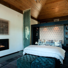 Contemporary Bedroom by Dianne Davant and Associates