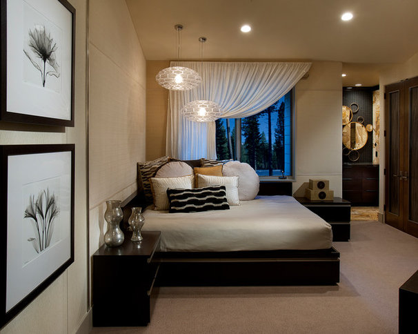 Contemporary Bedroom by IMI Design, LLC