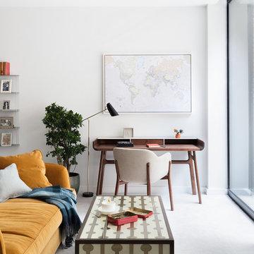 Modern New Home in Hampstead - Desk