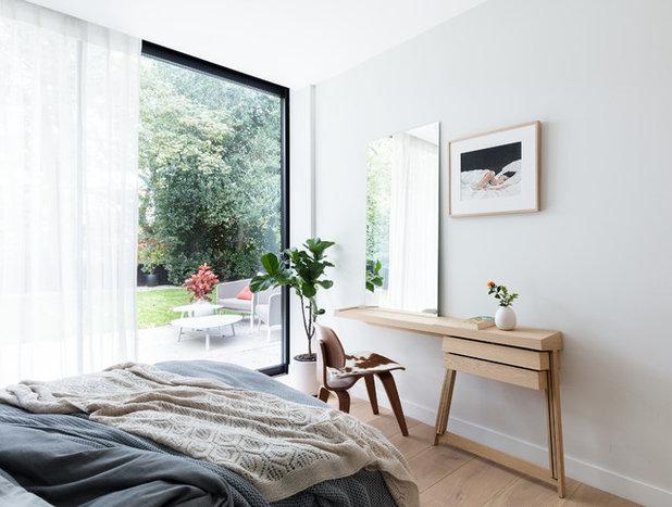 トランジショナル 寝室 by Black and Milk | Interior Design | London