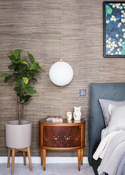 Contemporary Bedroom by Black and Milk | Interior Design | London