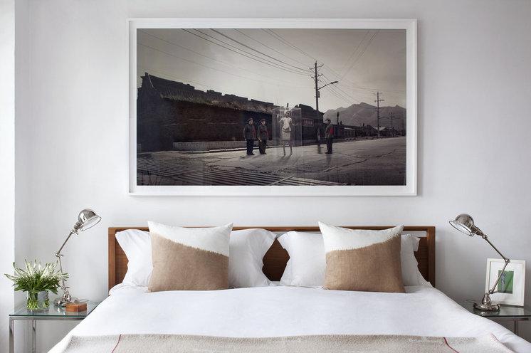 Современный Спальня by Jessica Glynn Photography