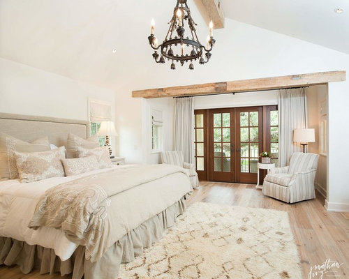 Farmhouse French Country Master Bedroom Bedroom Design Ideas Pictures Remodel Decor