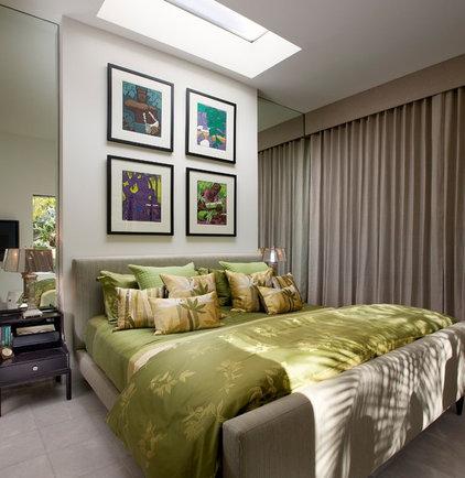 Midcentury Bedroom by Maienza-Wilson Interior Design + Architecture
