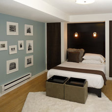 Contemporary Bedroom by + Modern Design