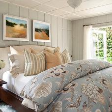 Beach Style Bedroom by Barclay Butera Interiors