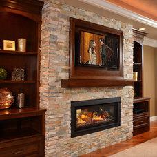 Rustic Bedroom by Copper Leaf Interior Design Studio