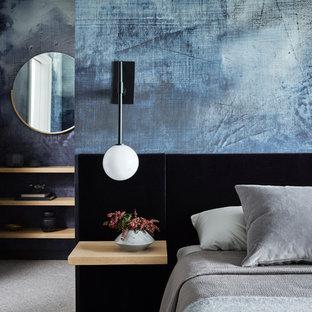Modernes Schlafzimmer in San Francisco