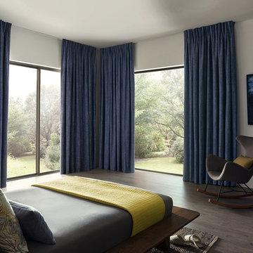 Modern Scandi Corner Bedroom