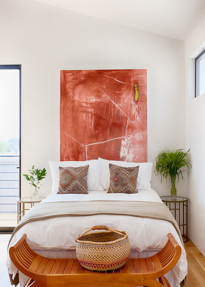 Contemporary Bedroom by Carley Montgomery