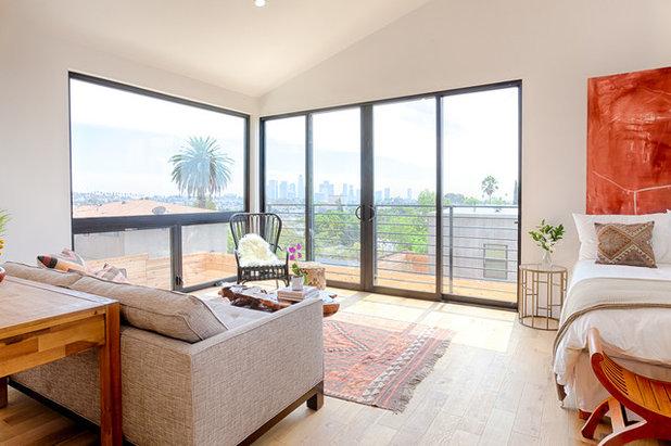 Contemporary Bedroom by Carley Montgomery